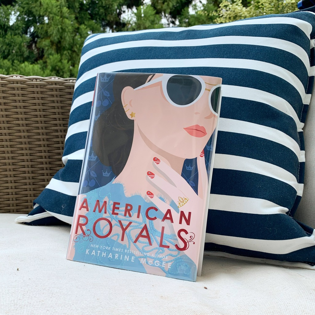 Physical copy of the American Royals book - library edition