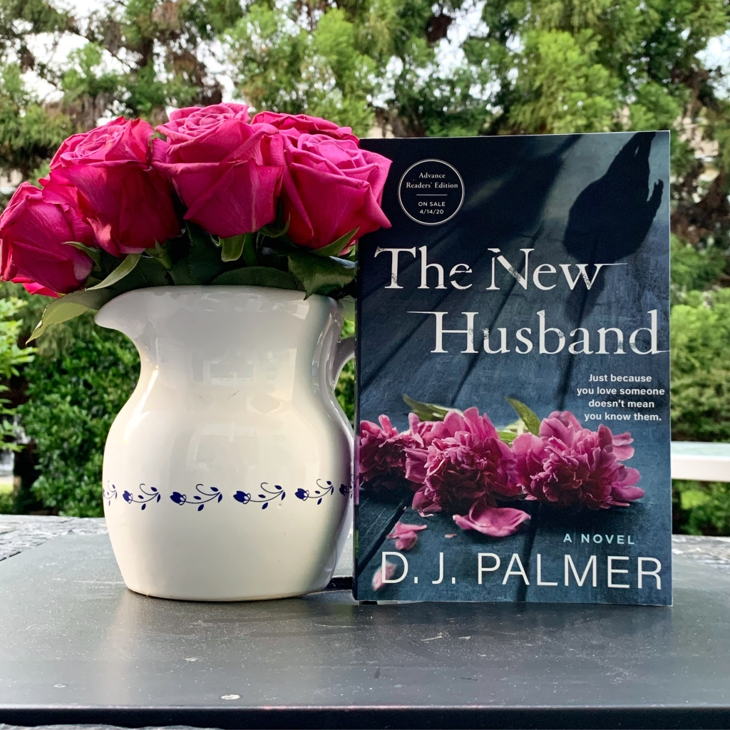 The New Husband paperback book with roses