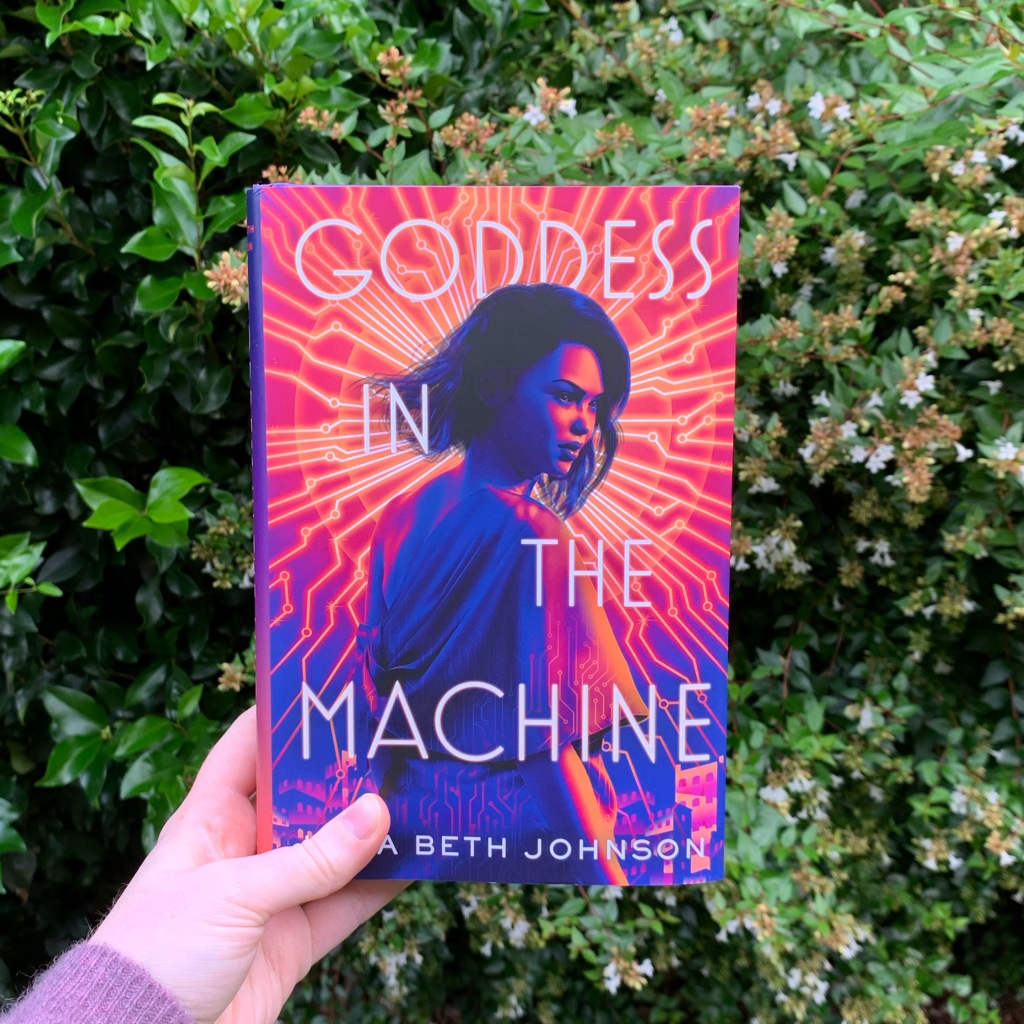 Goddess in the Machine hardcover