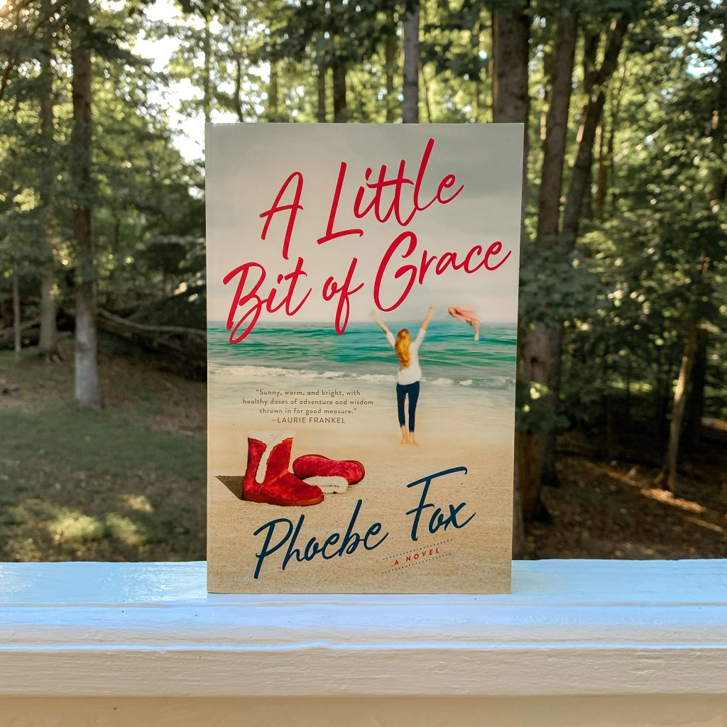 A Little Bit of Grace by Phoebe Fox book in paperback