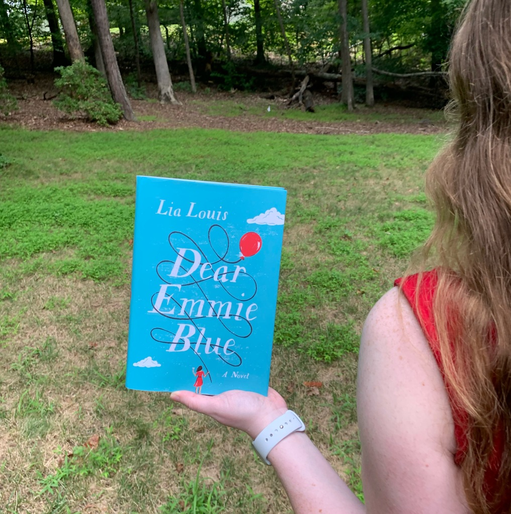 Photo of Dear Emmie Blue hardcover
