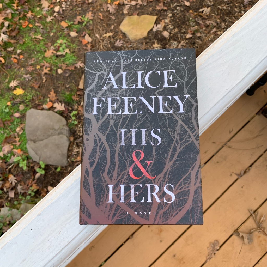 His & Hers by Alice Feeney hardcover