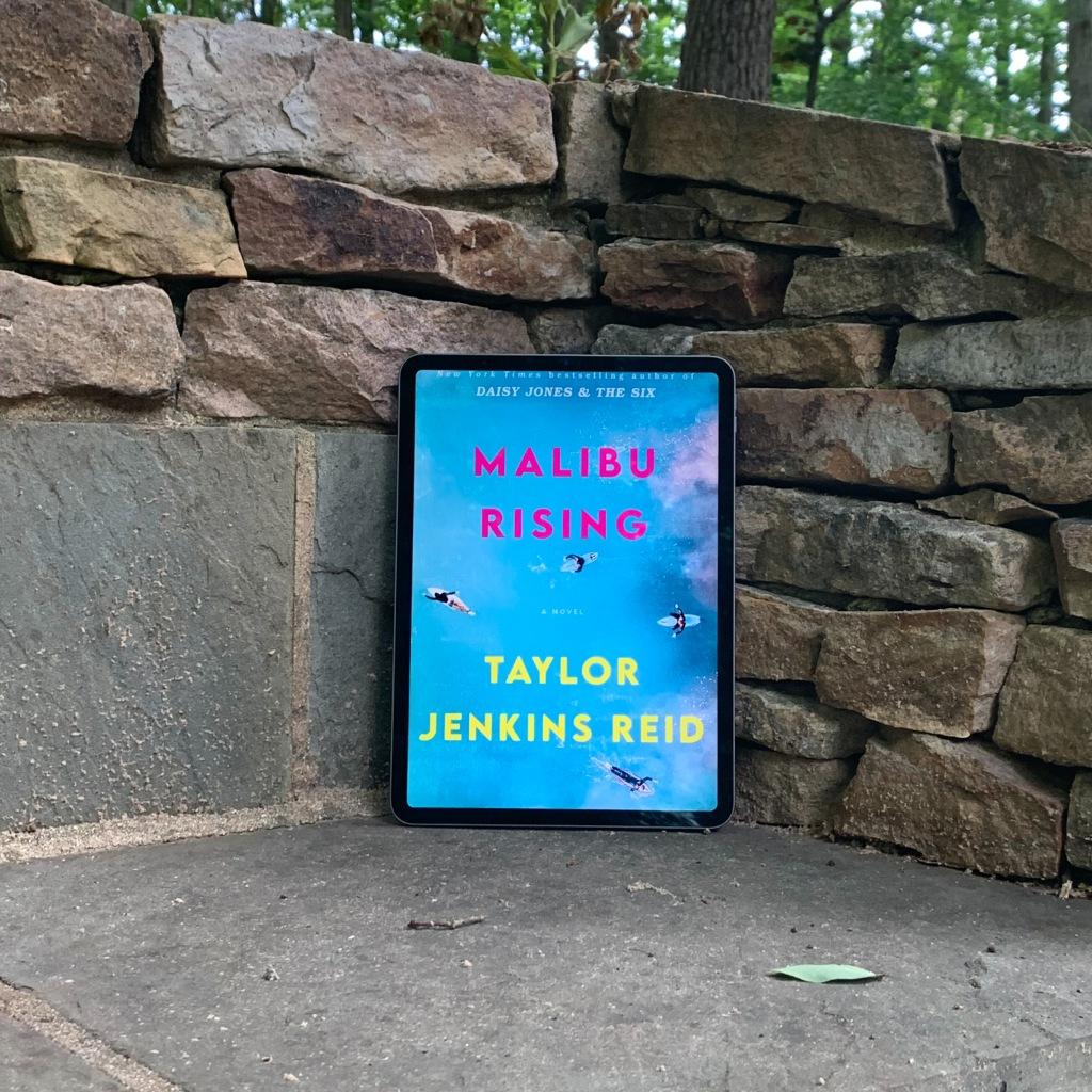 Photo of Malibu Rising by Taylor Jenkins Reid ebook on iPad