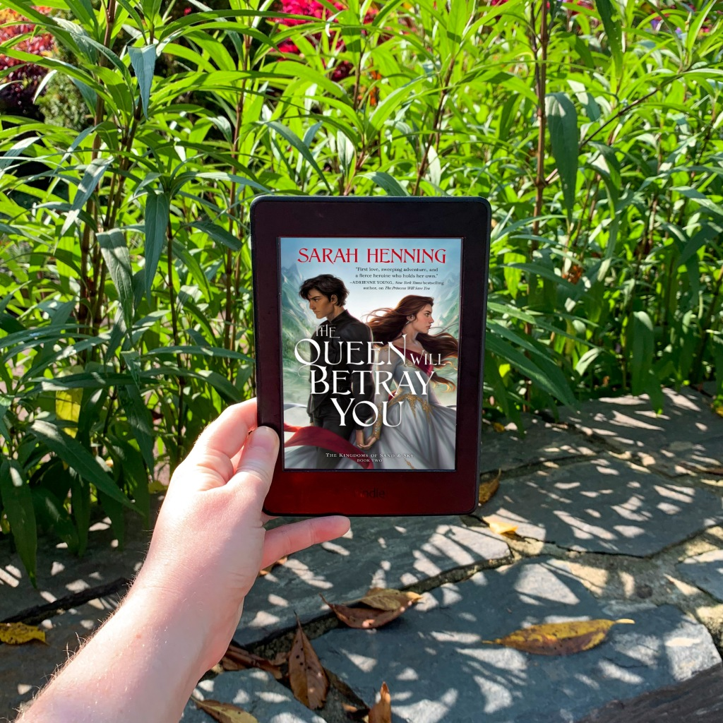 Photo of Sarah Henning's The Queen Will Save You ebook on kindle