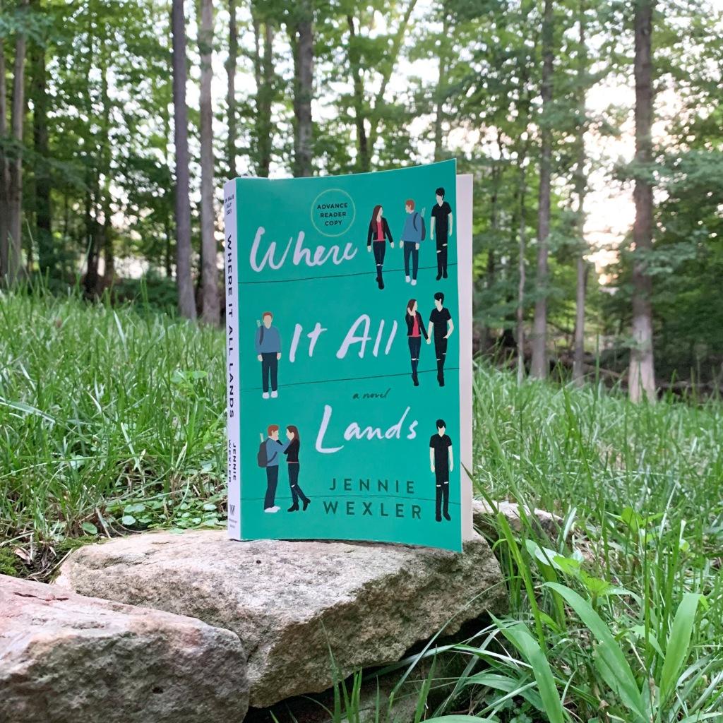 Where It All Lands, ARC paperback copy
