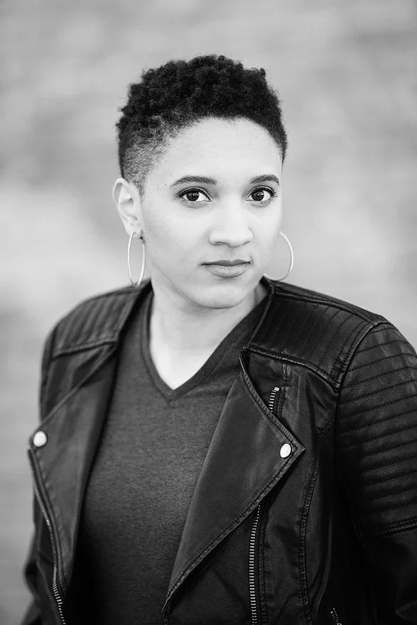 Headshot of author Charlotte Nicole Davis